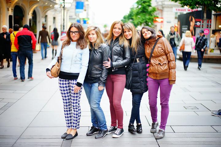 girls in Vienna