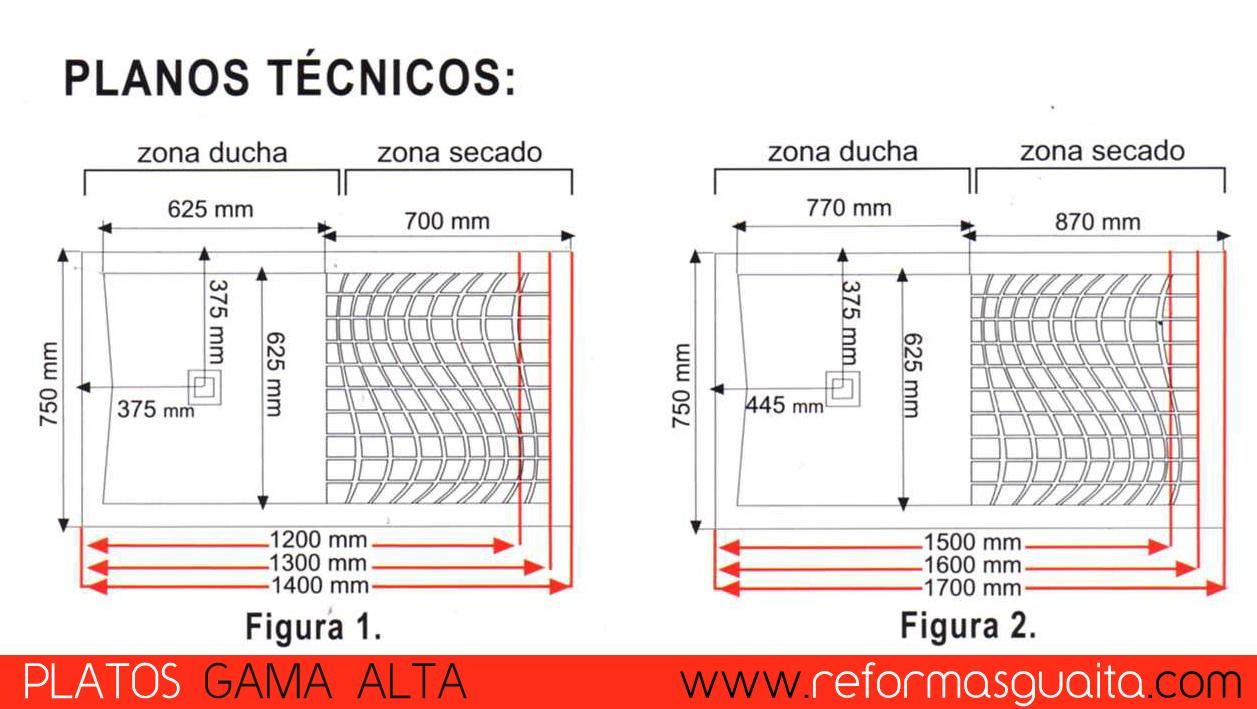Serie Gama Alta De Platos De Ducha Reformas Guaita