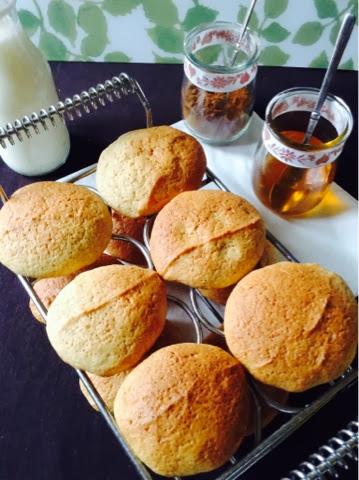 Pastitas caseras de miel y canela