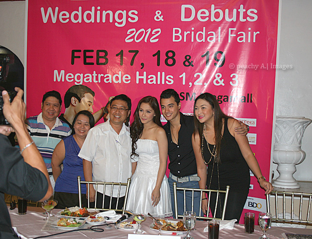 JUAN CARLO the CATERER at the Weddings and Debuts 2012 Bridal Fair PressCon