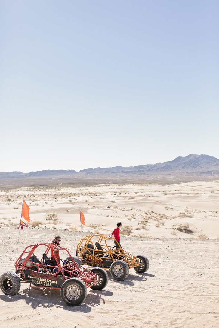 Dunebuggy Tours on the Las Vegas Sand Dunes.