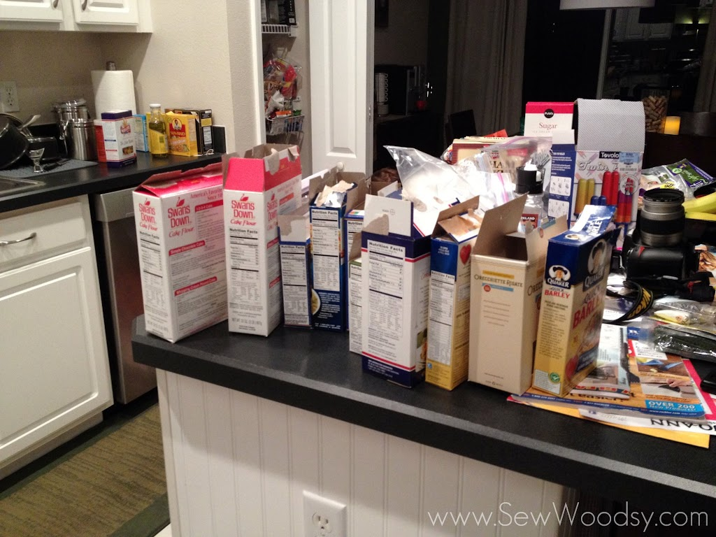 Vinyl on OXO POP Containers - pantry cleanup