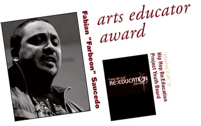 arts educator award: Fabian