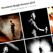 Tarkan posts festival photos on facebook