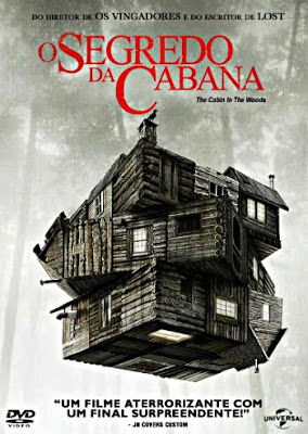 [TORRENT] O Segredo da Cabana 2013 BDRip 720p Dublado / MP4 (The Cabin in the Woods)