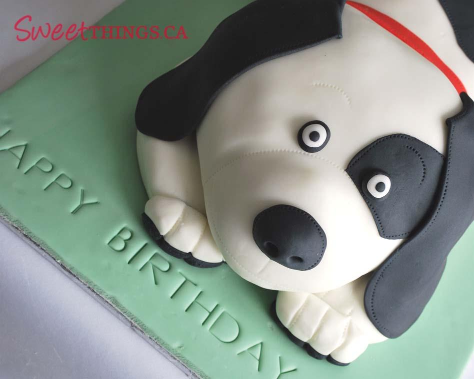 Sweetthings 7th Birthday Cake Puppy Cake