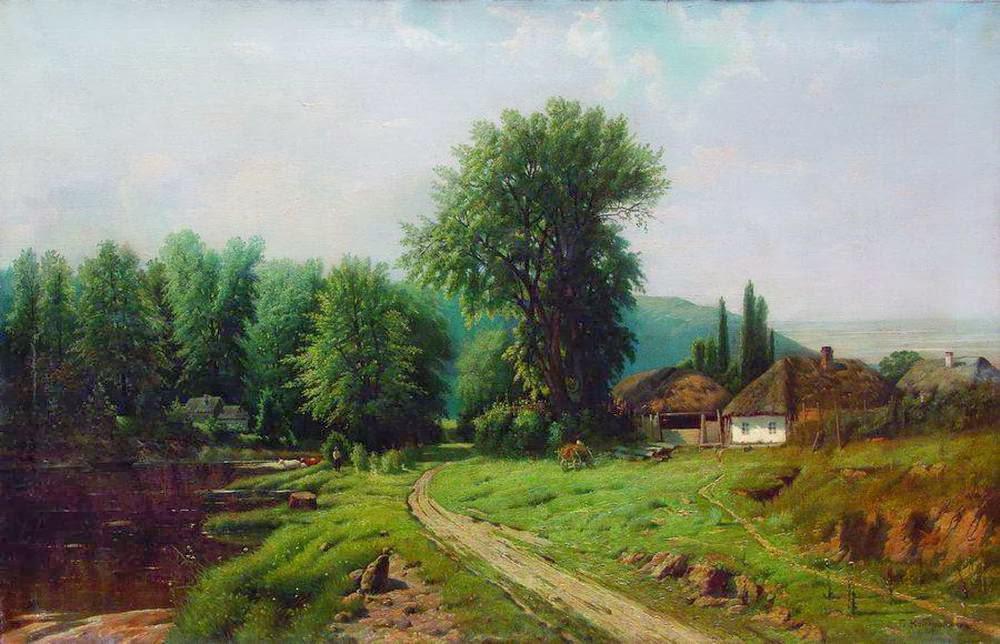 Gavril Kondratenko - Rural Landscape