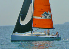J/111 Black Bull from Italy sailing Rolex Middle Sea Race