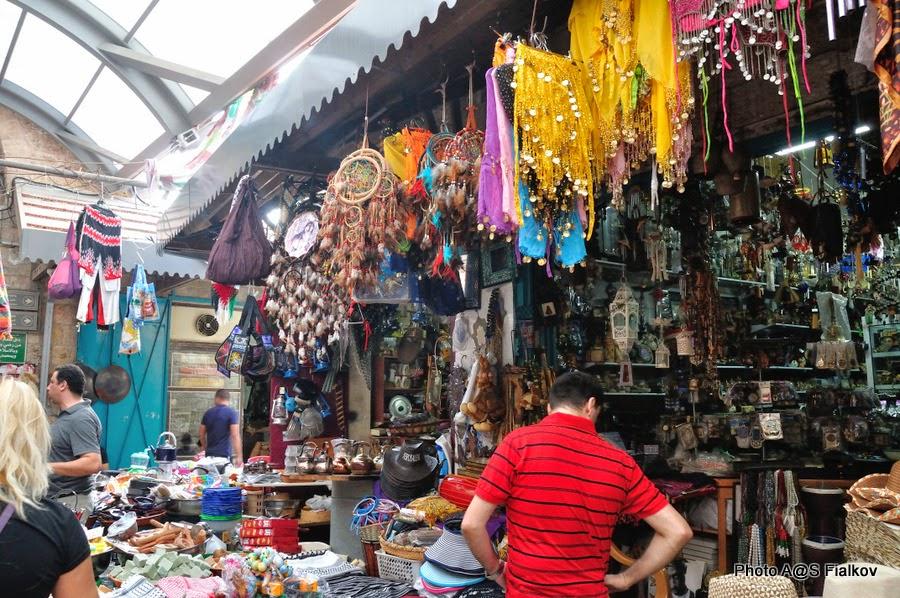 Рынки на улицах Акко. Экскурсия в Акко. Гид в Израиле Светлана Фиалкова.
