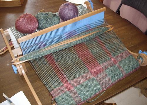 Joybilee Farm: Saori Free Weaving on the Ashford Knitters Loom