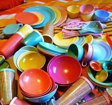 Вредные материалы в посуде