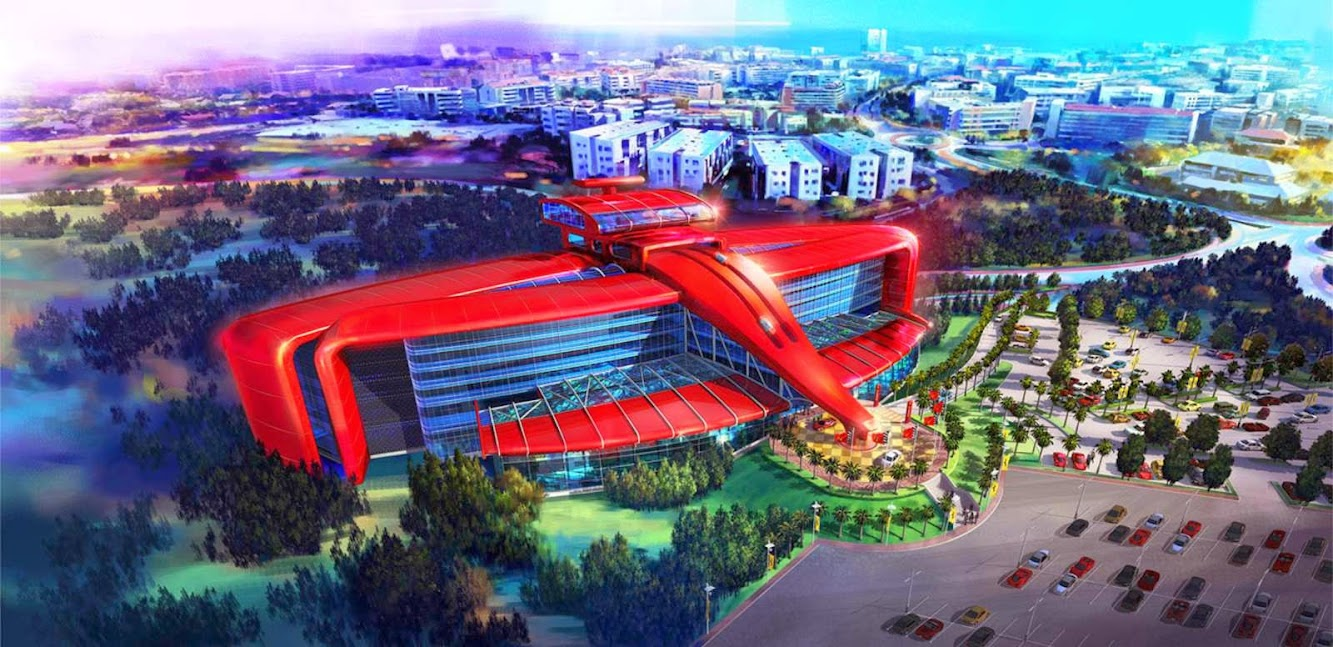 Spain: FERRARI LAND the FIRST THEME PARK in EUROPE