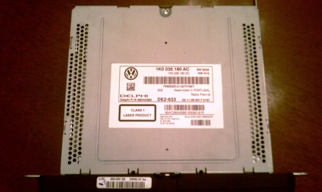 VWVortex com - For Sale RCD-510 (Premium 8) from 2010 CC