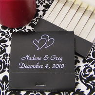 Personalized wedding matches