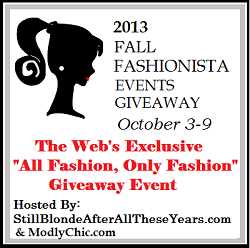 2013 Fall Fashionista Event Giveaway