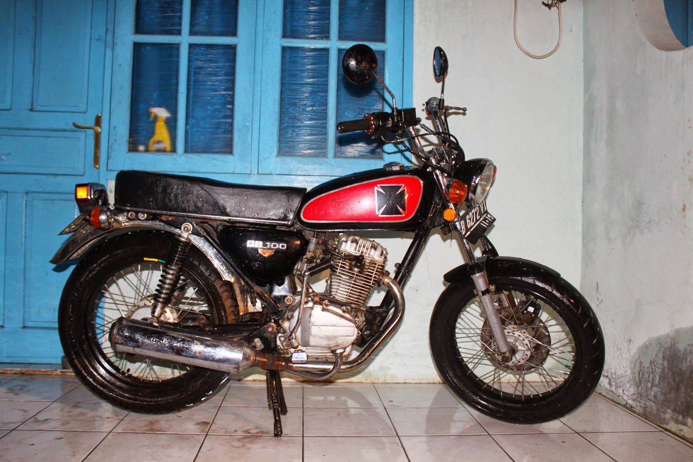 honda tiger modifikasi ducati