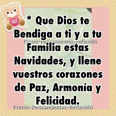 Amor Que Dios te Bendiga te Amo Que Dios te Bendiga a ti y a