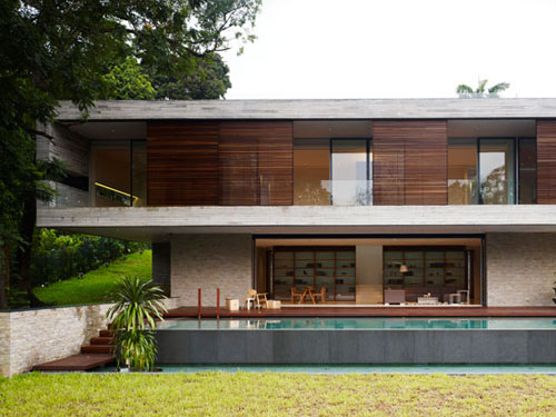 модерен дом по фън шуй