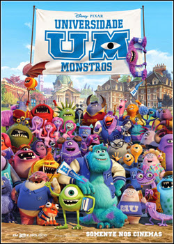 Universidade Monstros – DVDRip AVI + RMVB Dublado