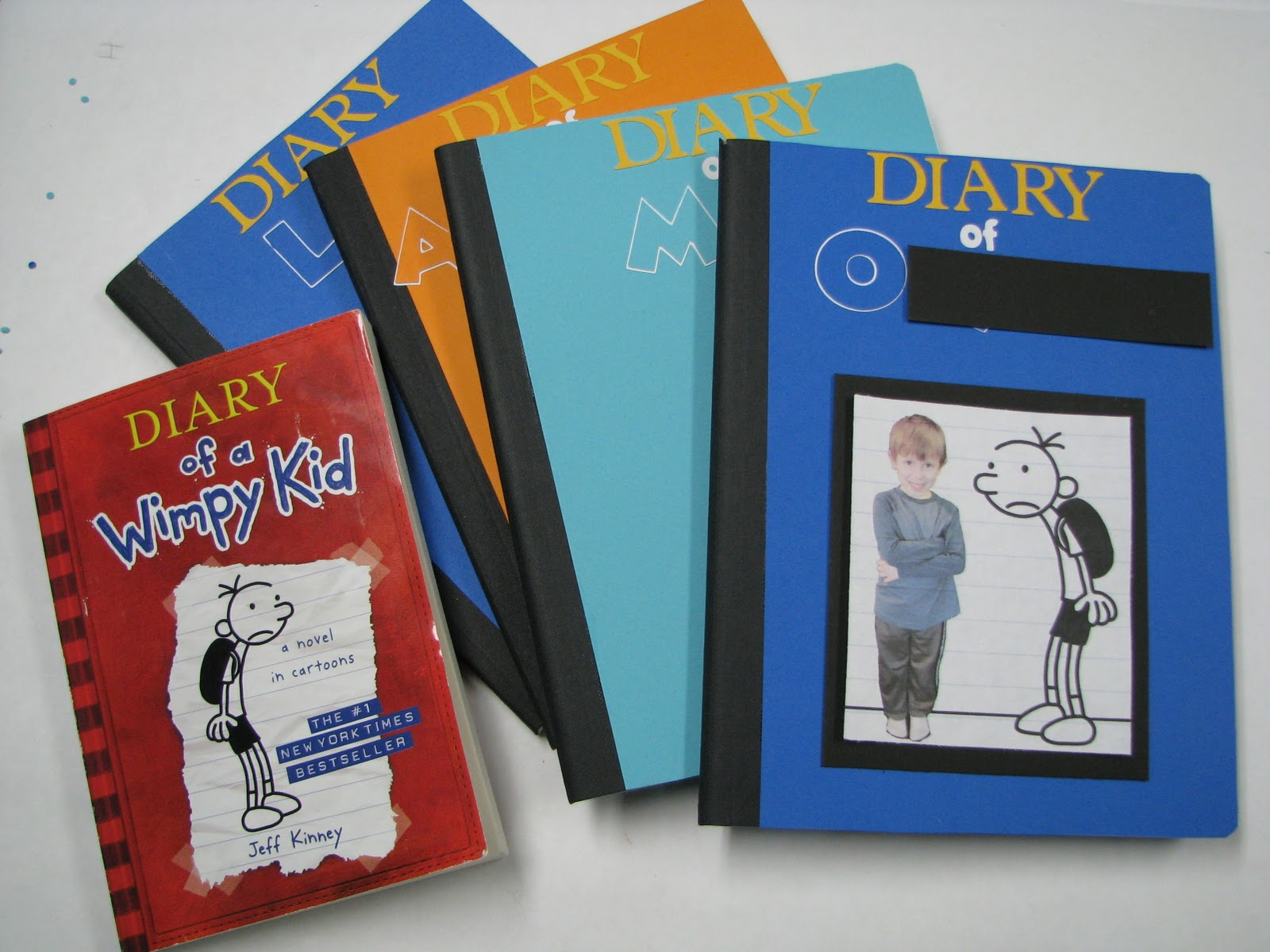 Cmom productions a wimpy kid birthday for Diary of a wimpy kid crafts