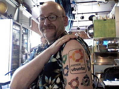 Imagen del fanátismo Linuxero
