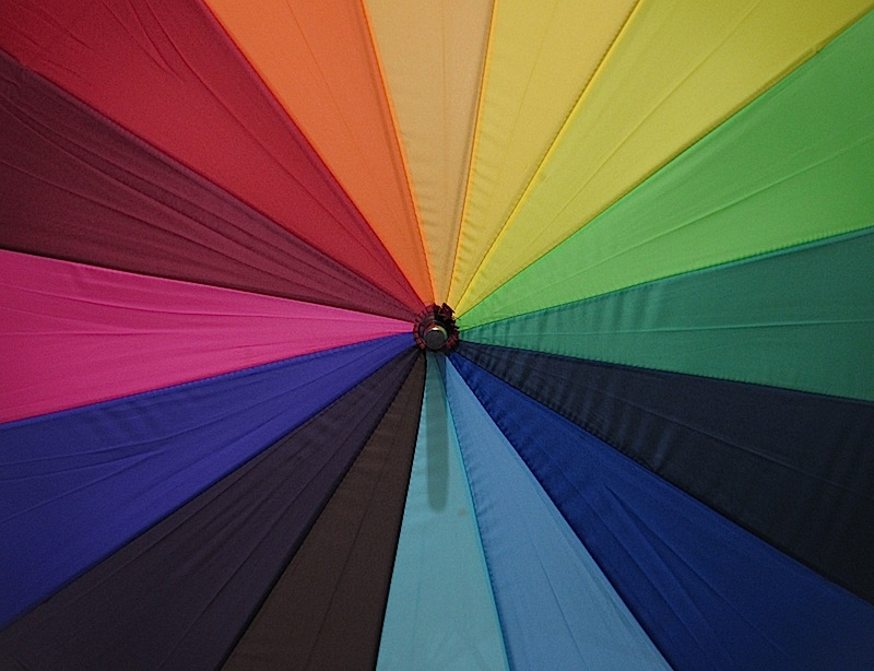 rainbow-colorer umbrella