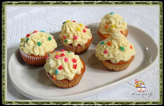 Cupcake de fécula de batata 9