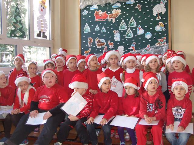 Święty Mikołaj odwiedził dzieci z naszej szkoły