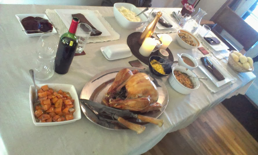 Nathan's thanksgiving dinner