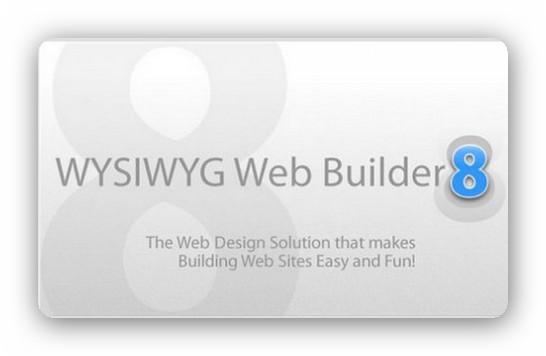 WYSIWYG Web Builder 8.5.7 Portable- Crea p�ginas web