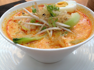 Curry Laksa at the Noodle House
