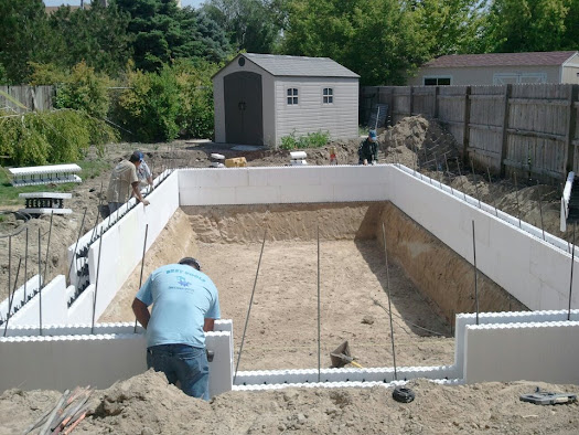 New ig pool in ut for Icf pool construction
