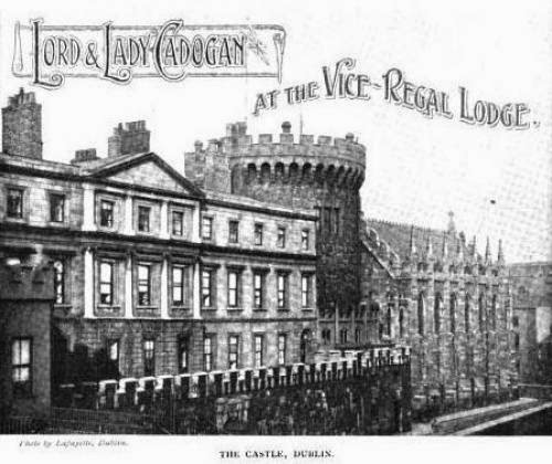 Lord And Lady Cadogan Flying The Flag For King And Country In Dublin
