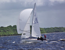 J/24s sailing off Ireland