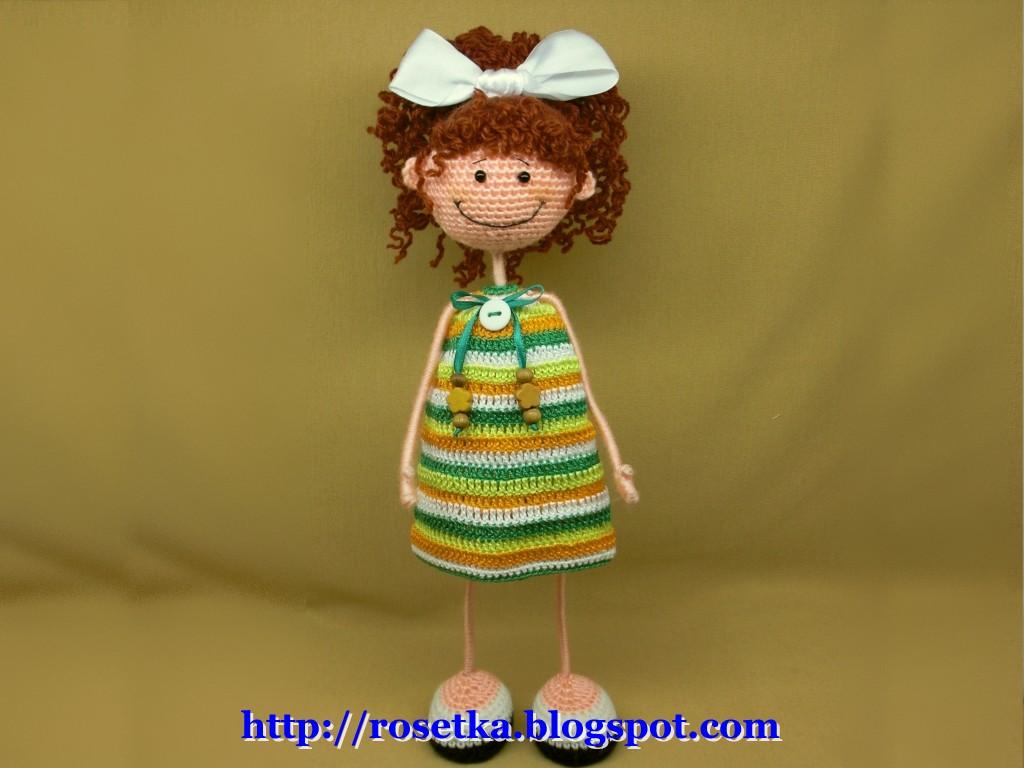 вязание крючком, куклы, мастер-класс