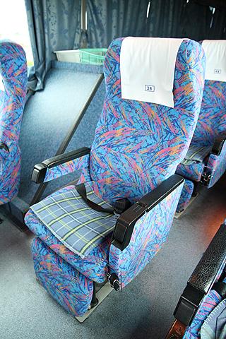 日ノ丸自動車「大山号」・229 シート