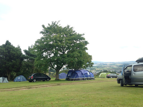 Minehead Camping and Caravanning Club Site at Minehead Camping and Caravanning Club Site