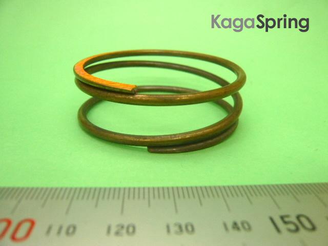 燐青銅製圧縮ばね(高磁場対応)