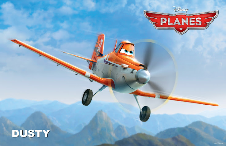 "Dusty from the new Disney movie ""Planes"""