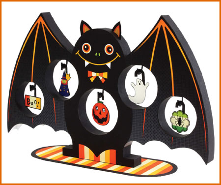 2012 Halloween Bat Tree Papercraft