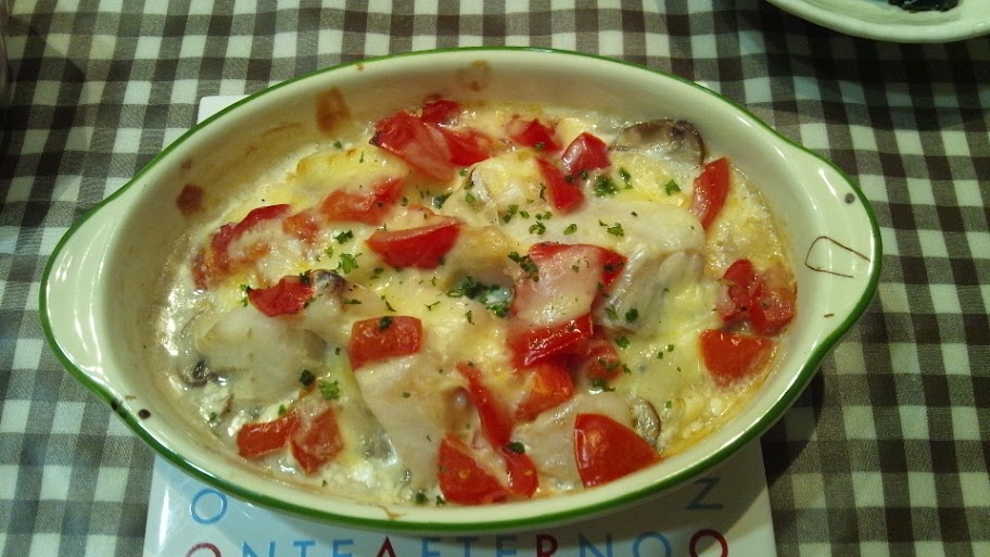 白身魚のマヨネーズ焼き