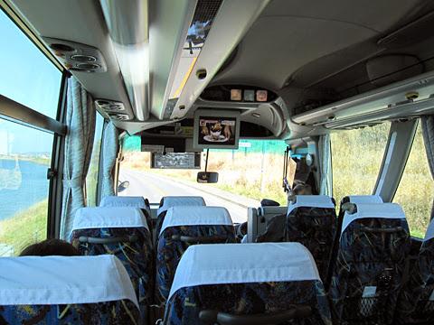 沿岸バス「特急はぼろ号」 ・387 車内