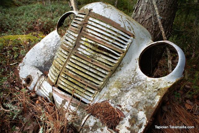 vanhan auto keula