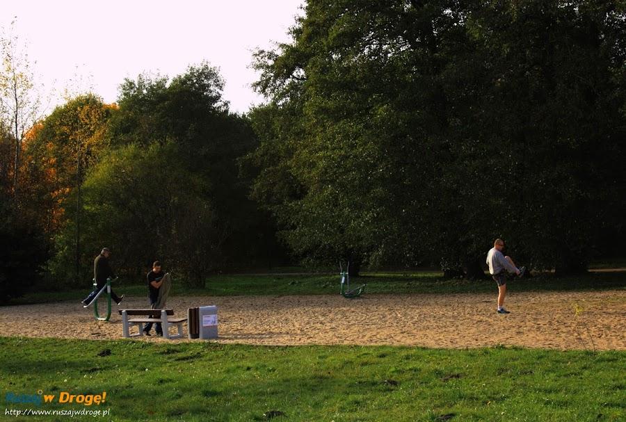 Park Reagana w Gdańsku - siłownia na świeżym powietrzu
