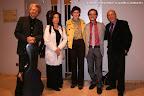 Thomas Kirchhoff, Dale Kavanagh, Cristina Sánchez Rivas (Directora Técnica), José Luis Ruiz del Puerto (Director Artístico) y Juan Grecos, Presidente de Amigos de la Guitarra de Valencia