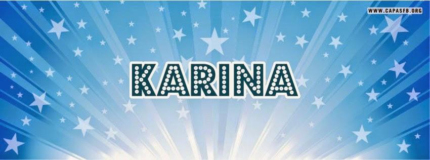 Capas para Facebook Karina