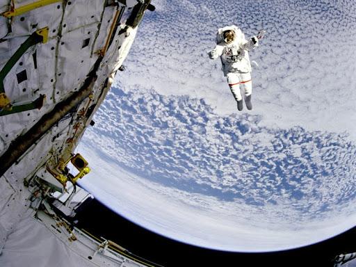 Going for a Walk, Astronaut Mark C. Lee.jpg