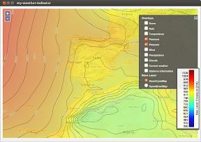 La evolución del tiempo con My-Weather-Indicator