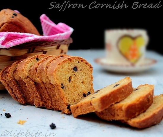 Cornish Saffron Bread, eggless, wholewheat and healthy!