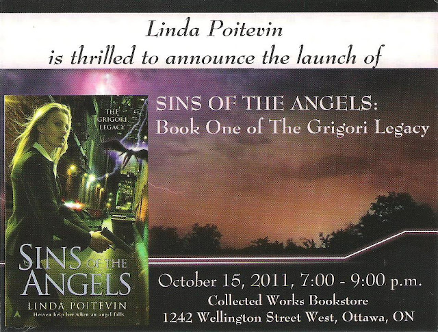 Official Launch of Sins of the Angels by Linda Poitevin